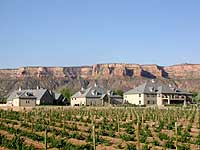 Two rivers winery and chateau home for Bookcliff gardens grand junction colorado